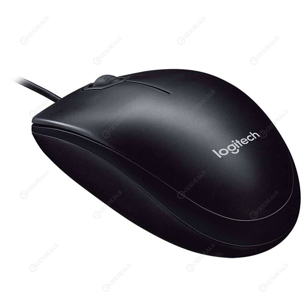 9a0b2563d57 Logitech M100R USB Wired Mouse 1000DPI Optical Mouse for Desktop Laptop PC  ...