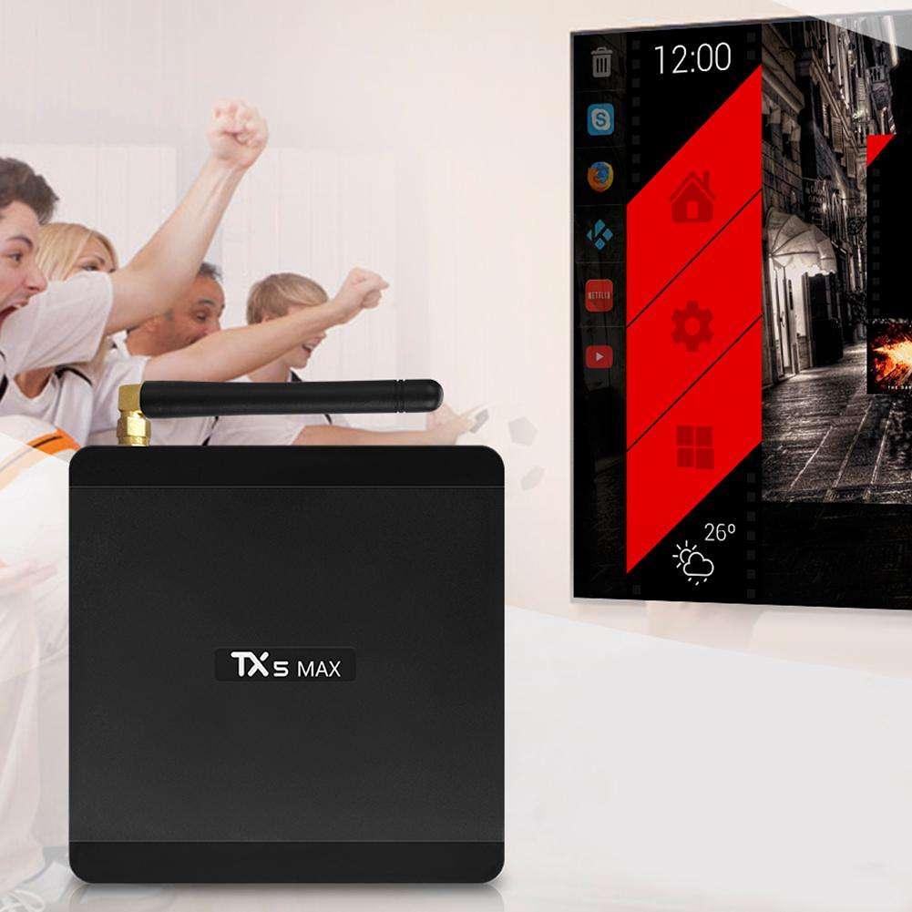 TX5 Max TV Box Bluetooth Android 8 1 Amlogic S905X2 Quad-Core Set Top Box