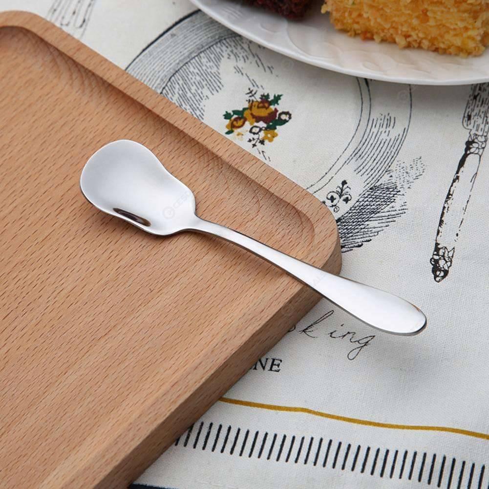 Stainless Steel Thicken Ice Cream Spoon Sharp Ice Spoons (Ice Cream Spoon)