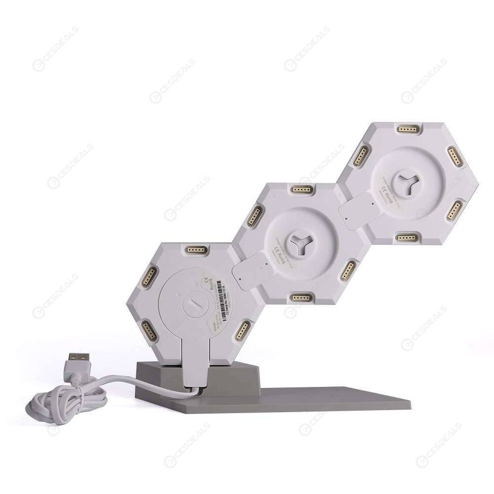 LifeSmart Quantum Lamp Hexagon Voice Control DIY WiFi Night Light (3pcs)