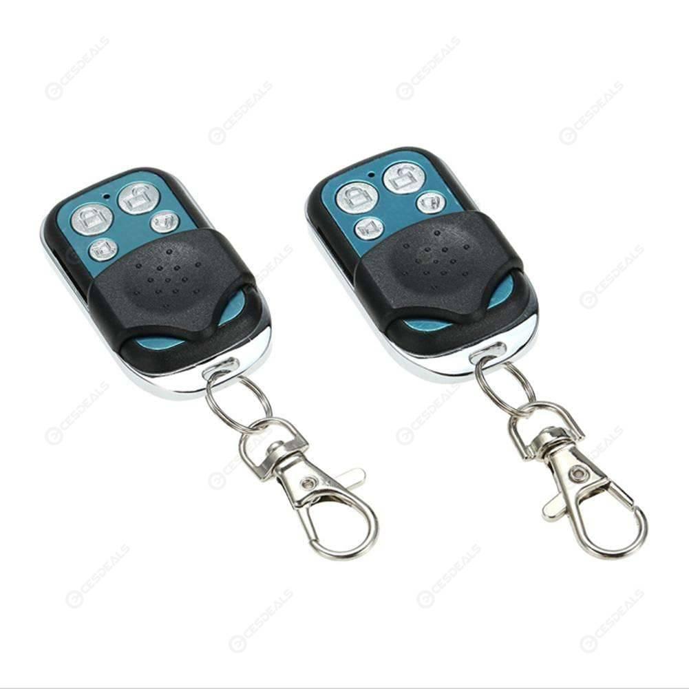 KELIMA Remote Central Locking Kit Car Alarm 2 Door Immobiliser Shock Sensor