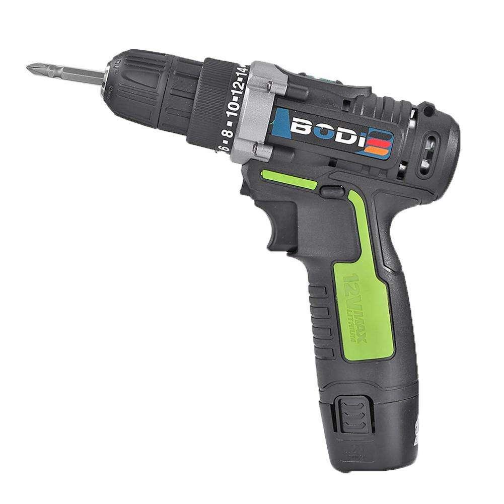 12V Electric Screwdriver Cordless Lithium Impact Drill (Single Speed EU)