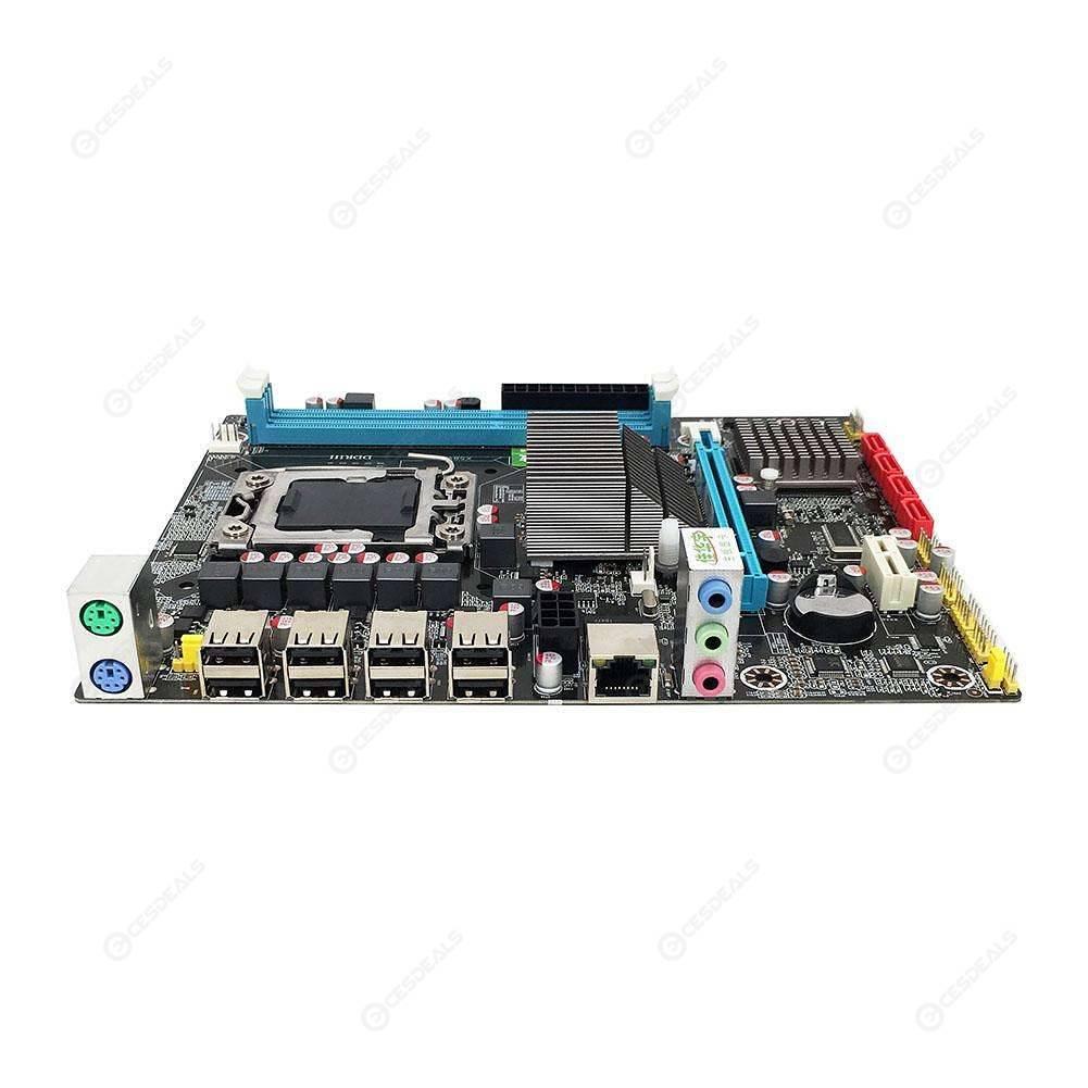 X58 RX LGA 1366 Motherboard Dual DDR3 Slot Support REG ECC Server Memory