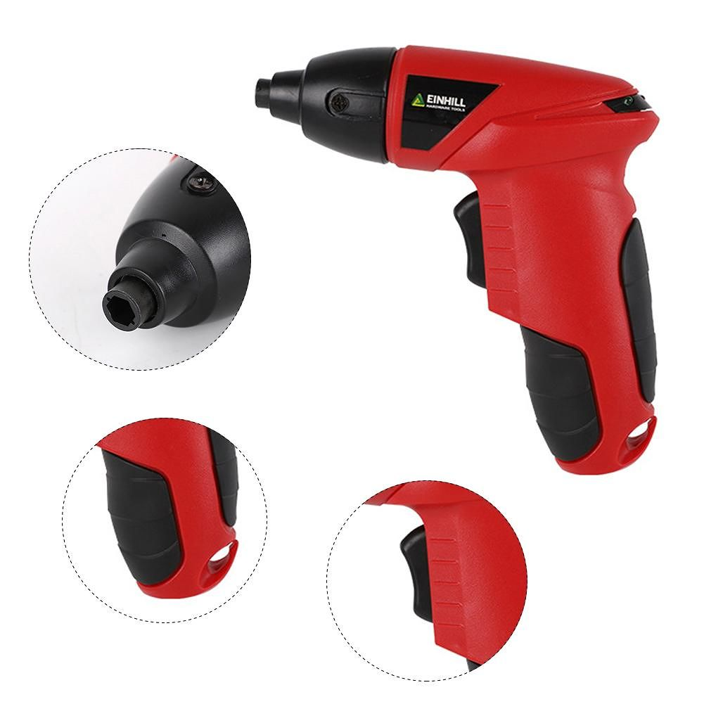 4.8V Cordless Electric Screwdriver Household Multi-use Charging Drill (EU)
