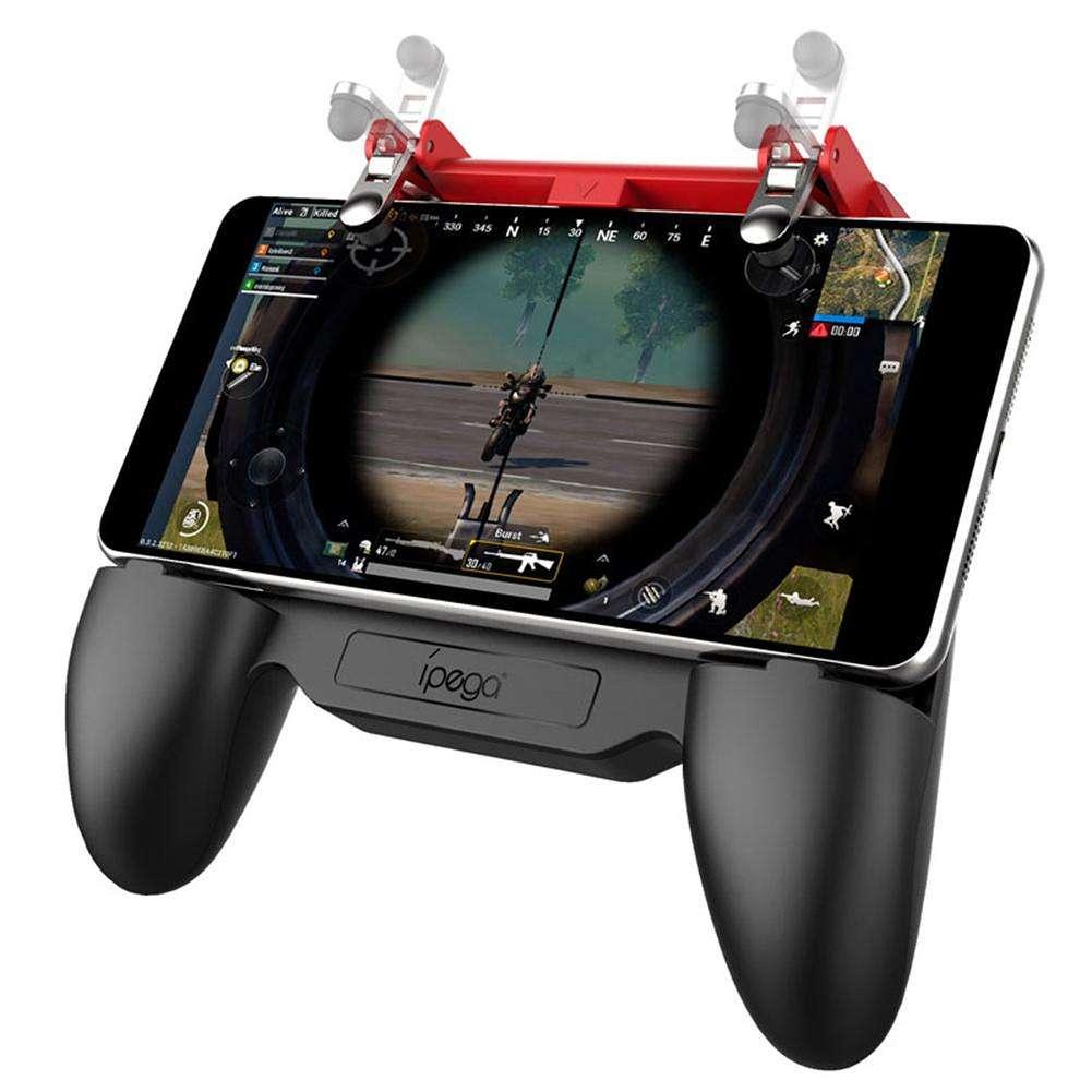 iPega PG-9123 Telescopic Mobile Gamepad for PUBG w/Cooling Fan Power Bank