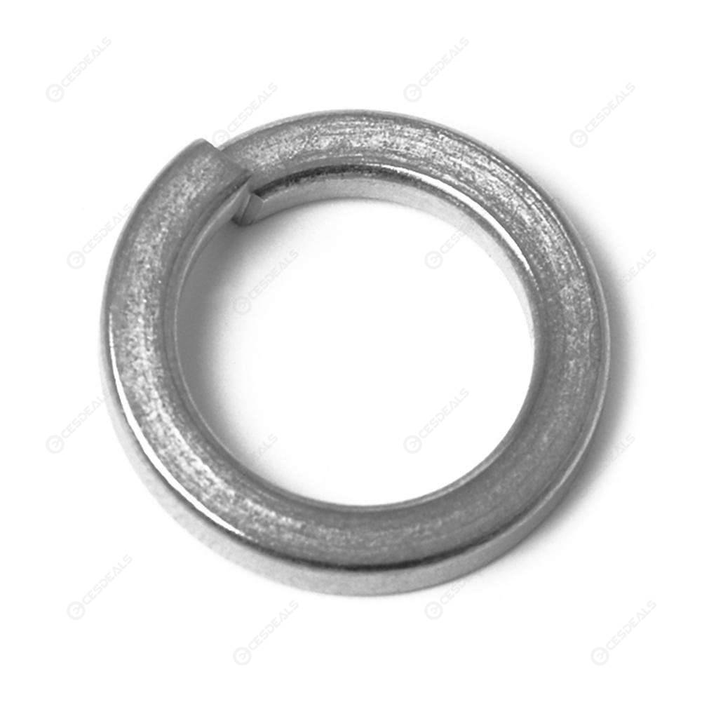75pcs Spring Washer Stainless Steel Lock Washer M4 M5 M6 M8 M10 M12 M14 M16