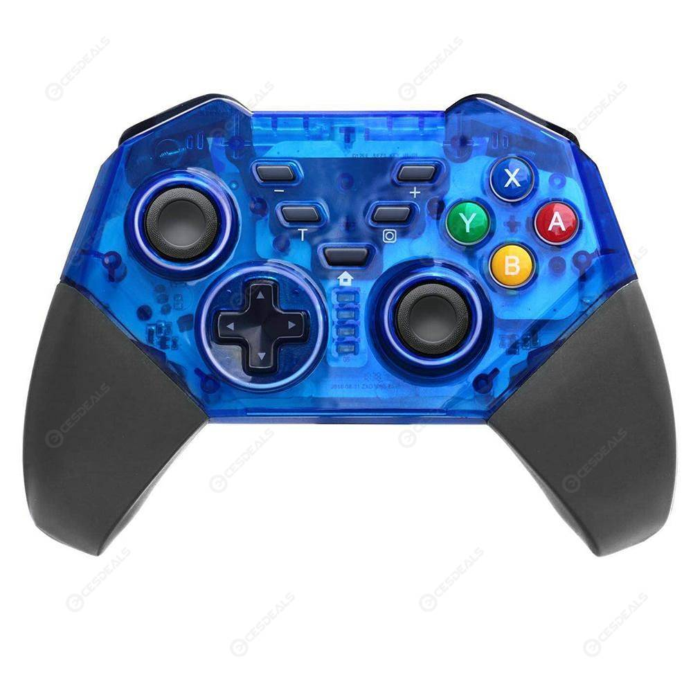 Bluetooth Programming Controller Compatible with Nintend Switch (Blue)