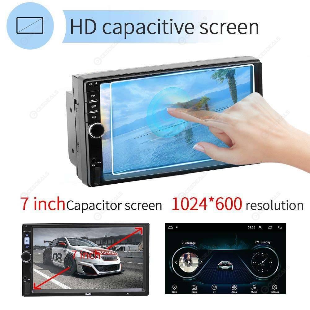 SWM 7018 7 inch Android 8 1 Car MP5 Player GPS Navi Radio WiFi BT (w/ Cam)