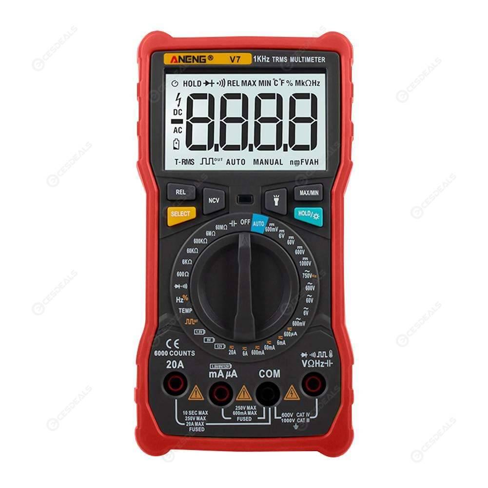 JoyFan DT830B LCD Multifunctional Digital Voltmeter Ammeter Ohm ...