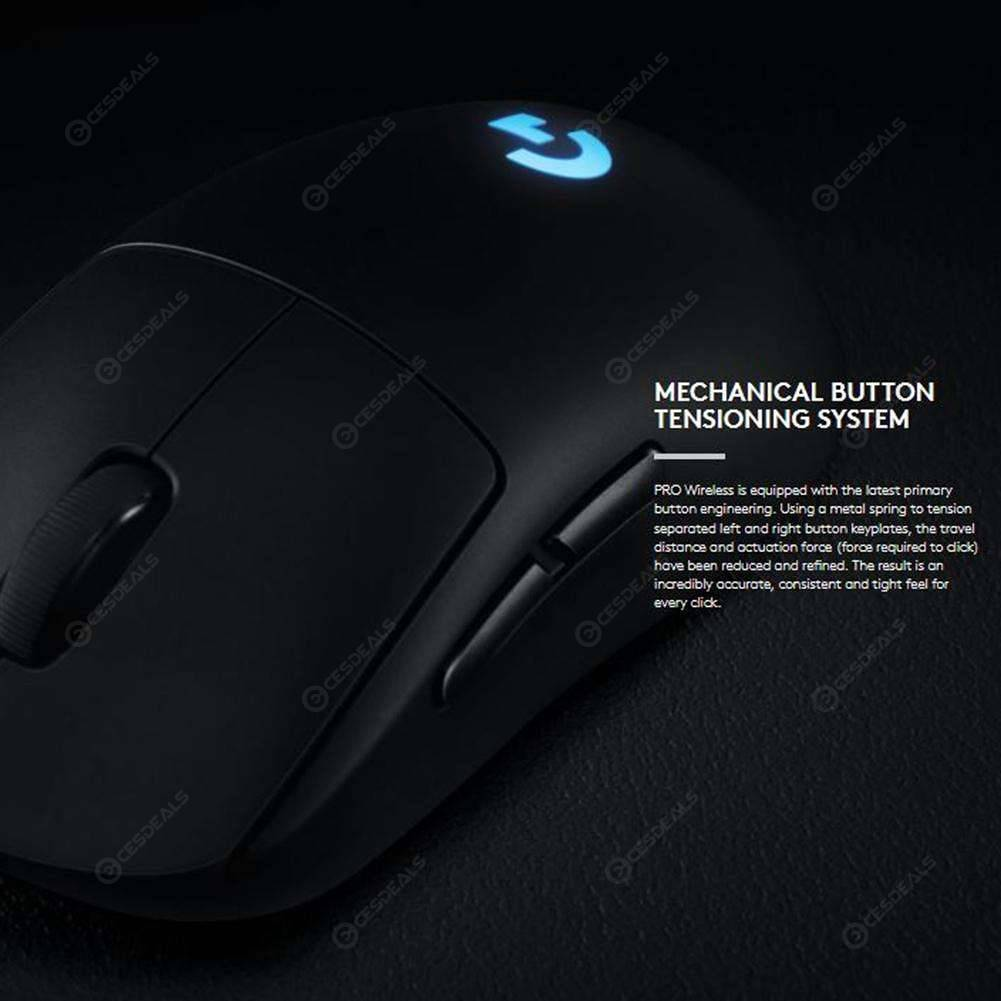 Logitech G Pro Wireless Gaming Mouse 16000DPI 8 Programmable Buttons Mouse