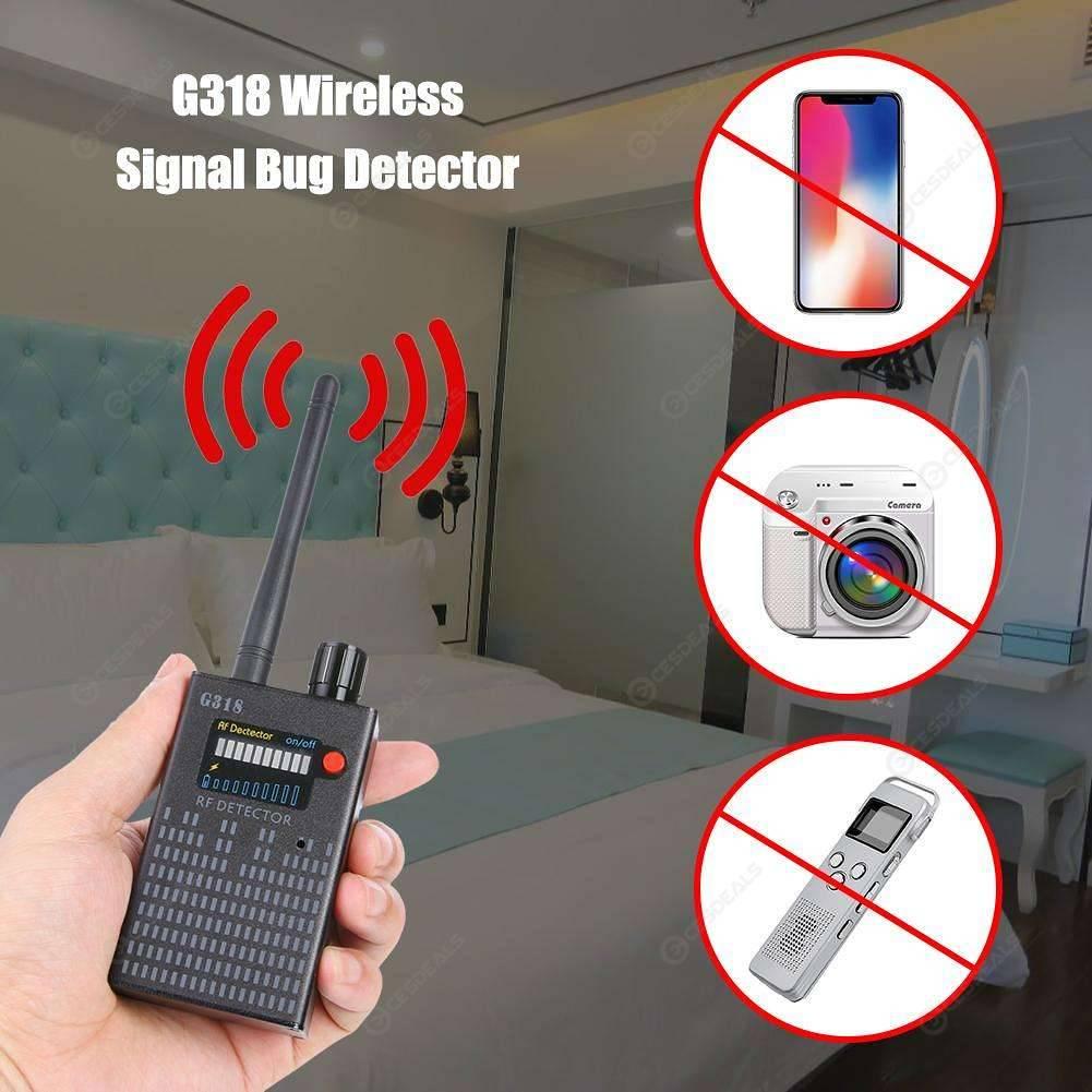 G318 Wireless Signal Detector Anti Candid Camera GPS Location Tracker (EU)