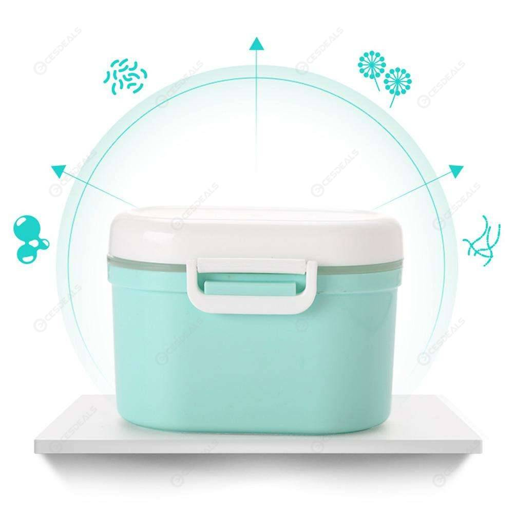 Baby Milk Powder Storage Infants Portable Formula Dispenser Feeding Box