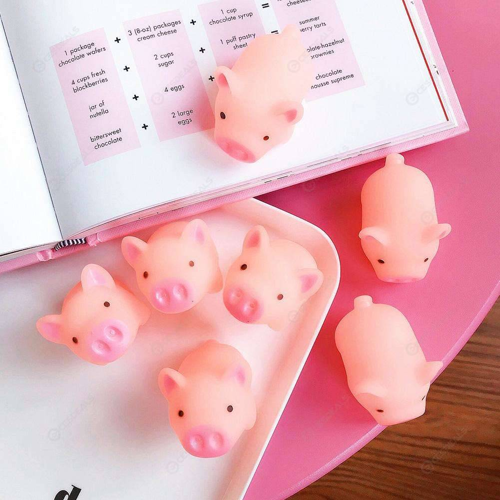 Cartoon Cute Baby Bath Shampoo Cup Shower Spoons Kids Bathing Tools (Pink)