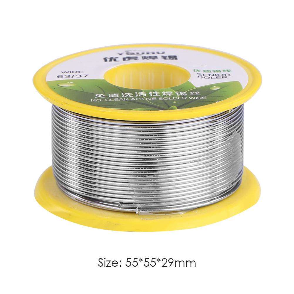 100g/roll Rosin Core Tin Wire Flux Reel Line Solder Welding Wires (0.8mm)
