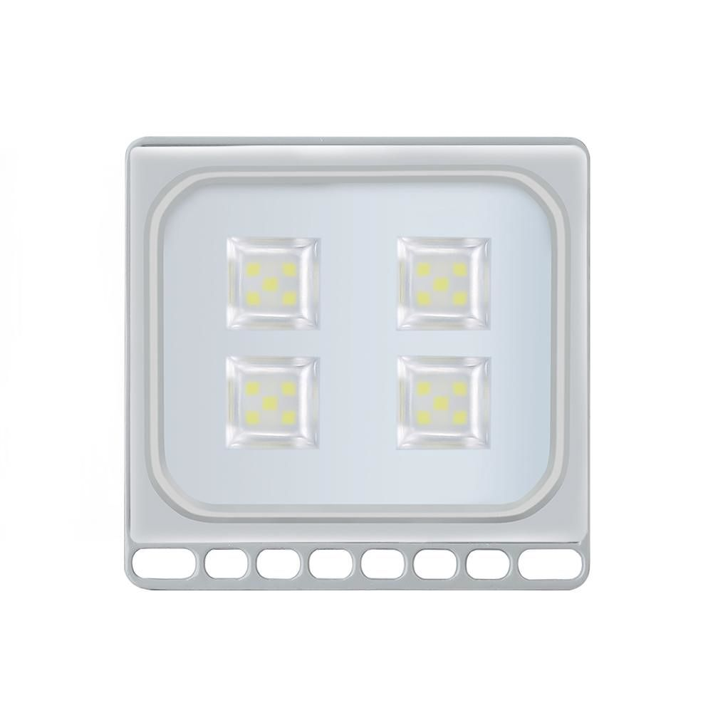 20W Ultrathin Floodlight IP65 20 LED Garden Outdoor Spotlight (CW 8pcs)