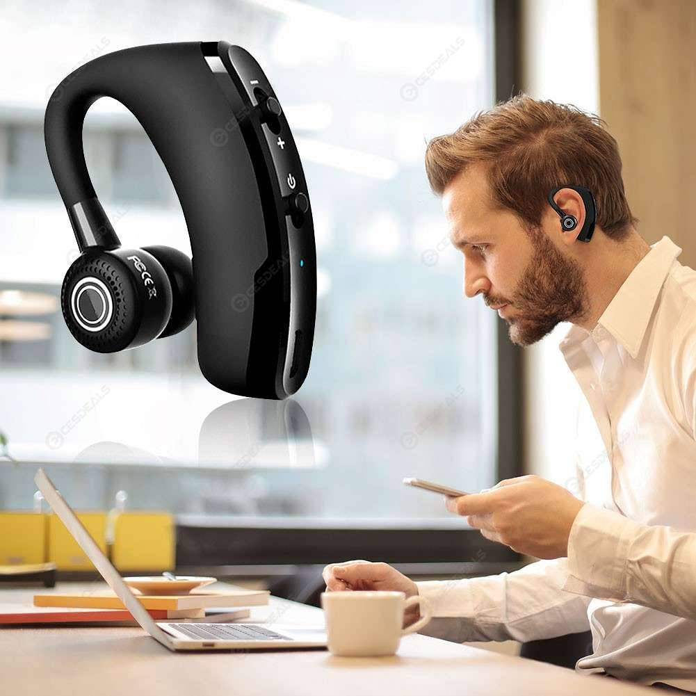 V9 Bluetooth Headphone Handfree CSR Noise Control Business Wireless Headset