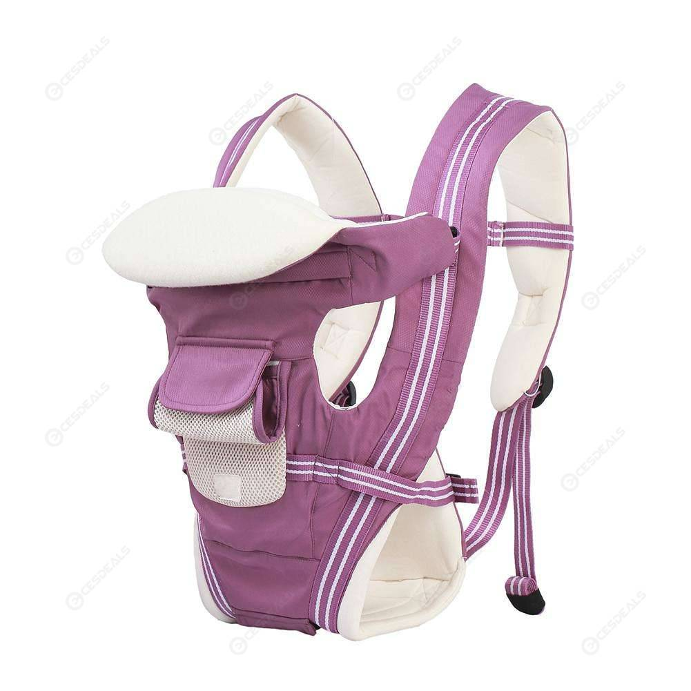 Baby Carrier Ergonomic Sling Backpack Prevent O-Type Legs Hipseat (Purple)