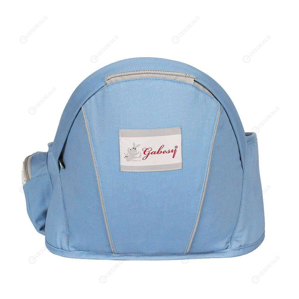 Baby Carriers Foldable Infant Hipseat Front Facing Wraps Backpacks (Blue)