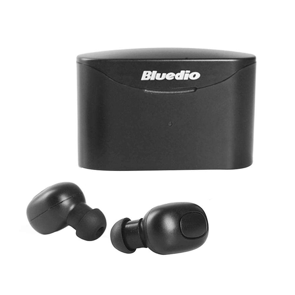 523a71b5d05 Bluedio T-elf Mini TWS Bluetooth Earphones Wireless Earbuds w/Charging Box  ...