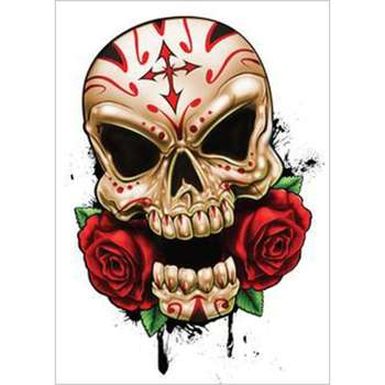 5D DIY Full Drill Diamond Painting Skull Rose Cross Stitch Embroidery Kit