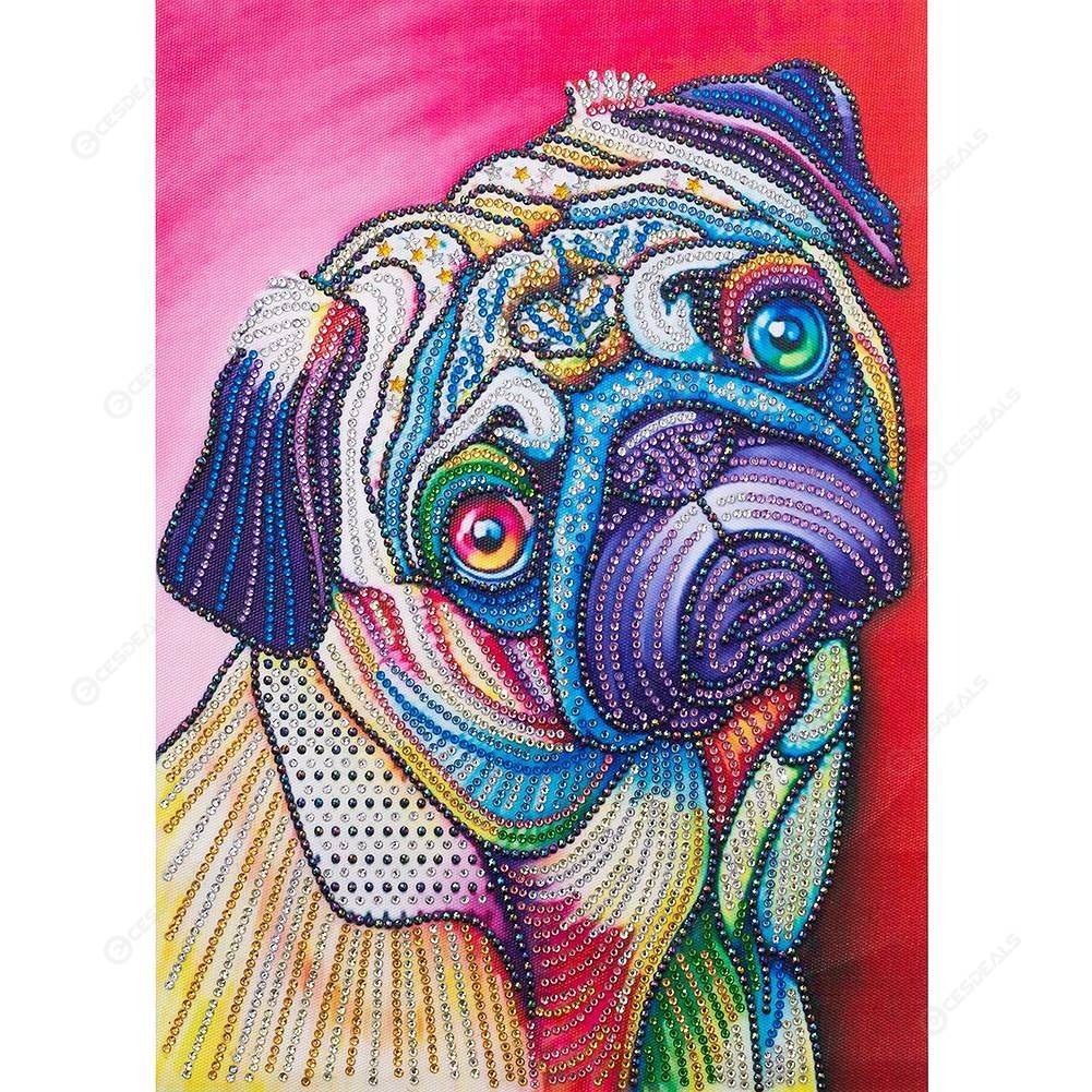 Dogue de Bordeaux Dog Cross Stitch Kit