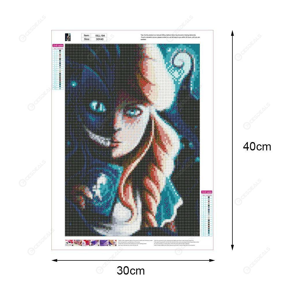 5D DIY Full Drill Diamond Painting Novelty Girl Cross Stitch Embroidery Kit