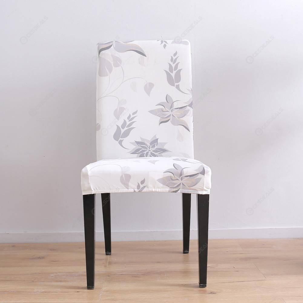 Digital Printed Stretch Chair Cover All-inclusive Elastic Slipcover (1pc)