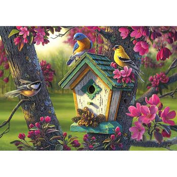 5D DIY Full Drill Diamond Painting Parrot Cross Stitch Embroidery Mosaic