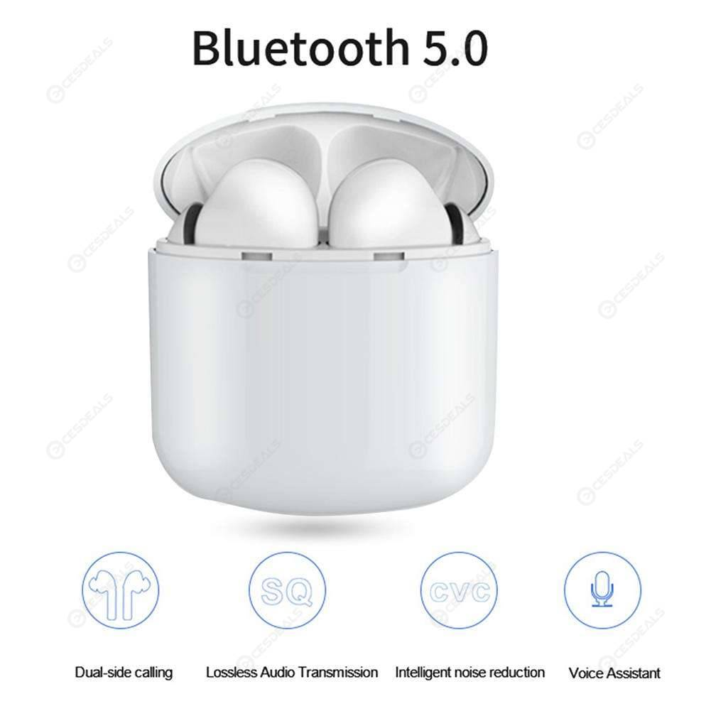 i9X Mini TWS Bluetooth Earphones Wireless Earbuds Support Wireless Charging