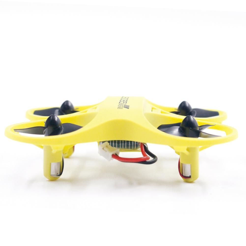 2.4G Quadcopter RC Camera Drone Electronic Portable Funny UAV Toy (Yellow)