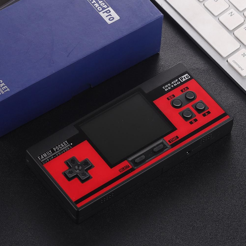 RS-88 Retro Portable Handheld Game Console Game Player Built-in 348 Games