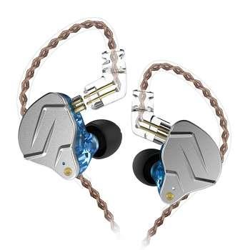KZ ZSN Pro Metal Earphones 1BA+1DD Hybrid In Ear Headset (Blue)(No Mic)