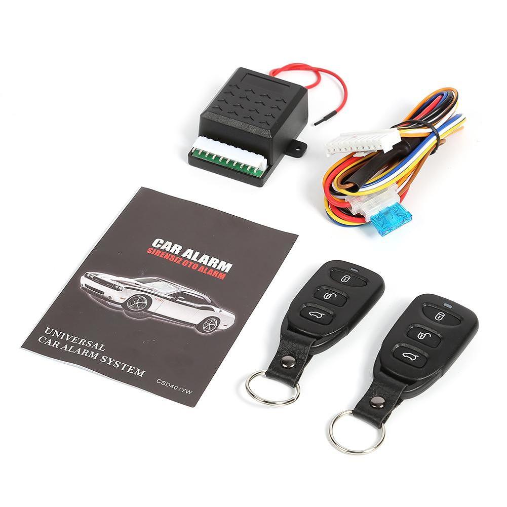 Car Remote Central Door Lock Locking Alarm Keyless Entry