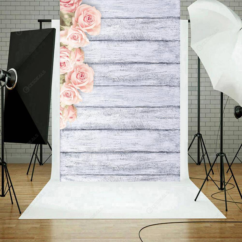 Romantic Floral Photography Backdrops Studio Photo Background (0.8 X 1.2m)