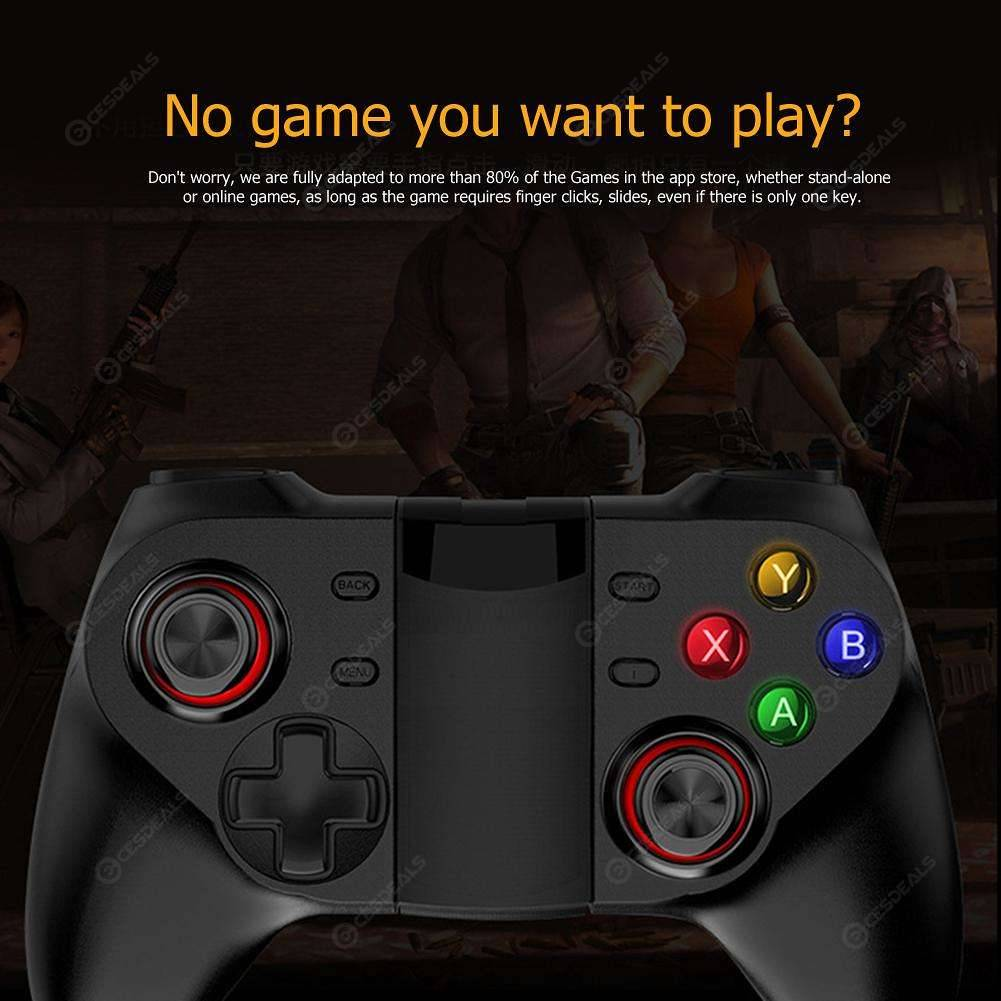 V1 Mobile Phone Wireless Bluetooth Gamepad Controller for PUBG Android iOS