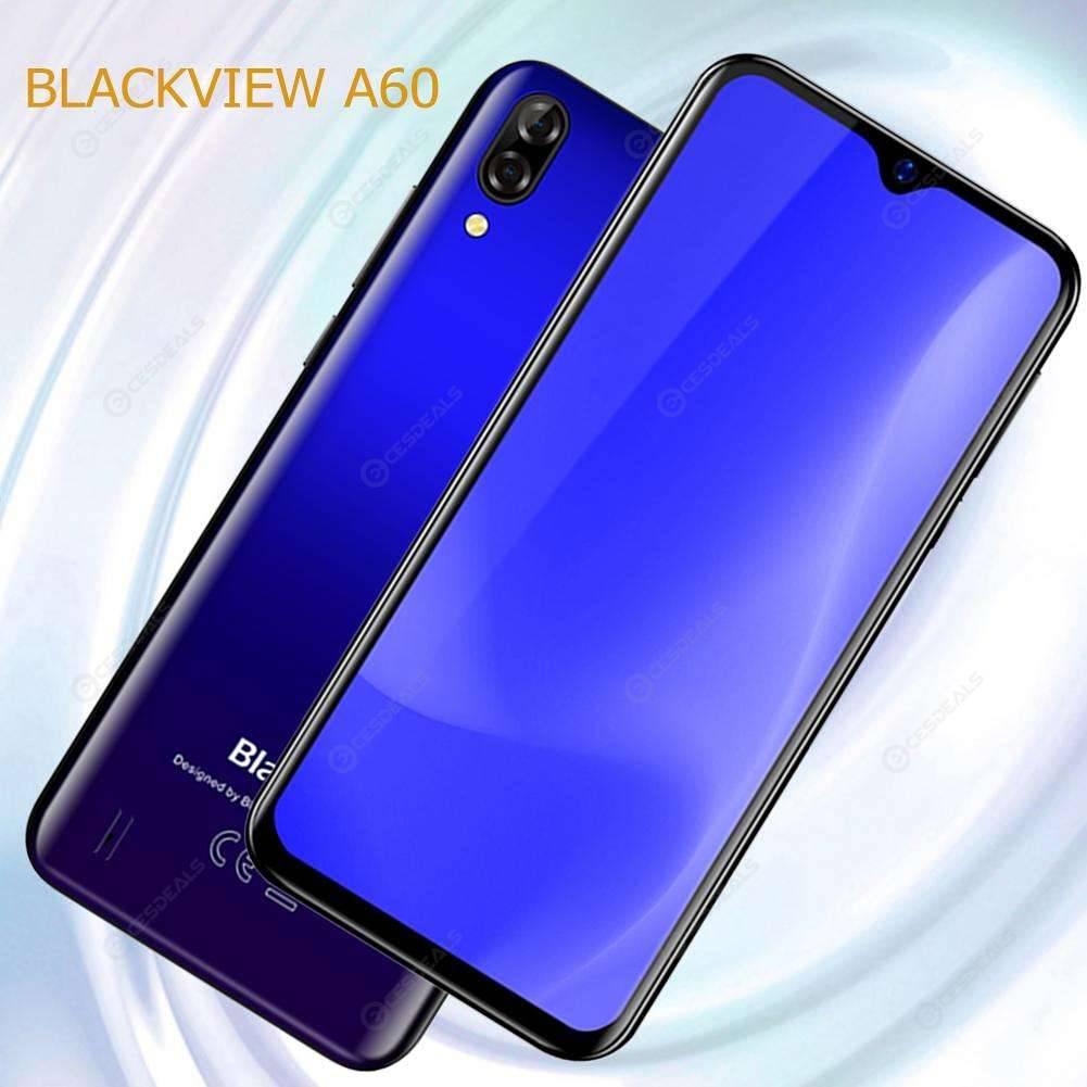 Blackview A60 6 1 inch Waterdrop Screen 1GB RAM 16GB ROM Smartphone (Blue)