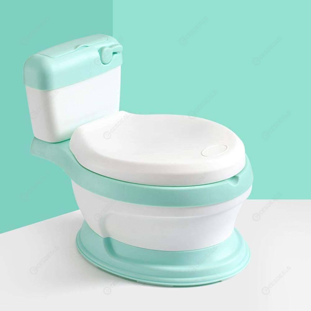Tremendous Baby Toilet Training Seat Portable Kids Cute Potty Chair Urinal Pot Green Evergreenethics Interior Chair Design Evergreenethicsorg