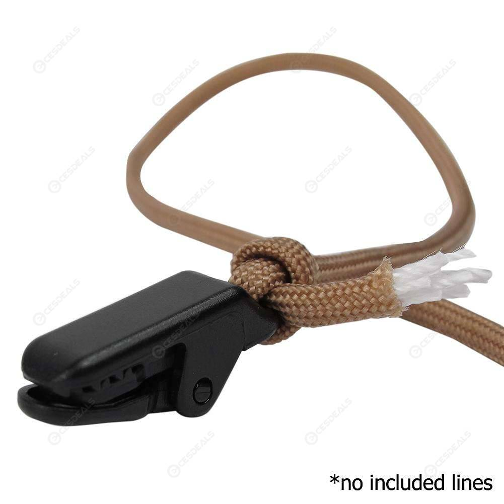 10pcs Mini Plastic Windproof Tent Clips Outdoor Camping Awning Rope Clamp