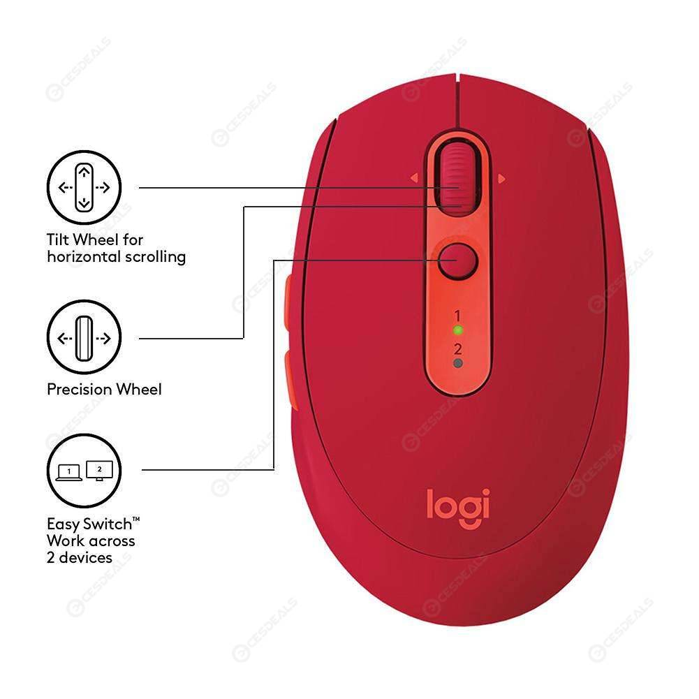 MOUSE TILT WHEEL - Logitech M590 Mute Wireless Bluetooth Mouse