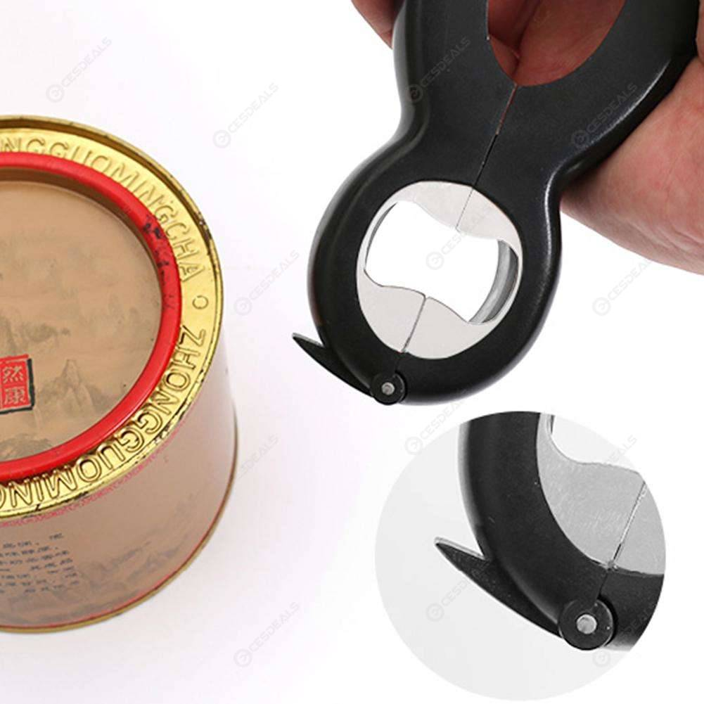 8 Shaped Bottle Opener Multi-function Stainless Steel Manual Can Tin Opener New