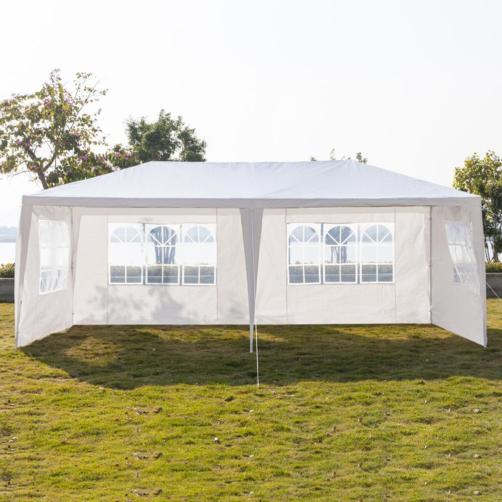 3x9m Waterproof Parking Shed Wedding Party Outdoor Camping Five Sides Tent