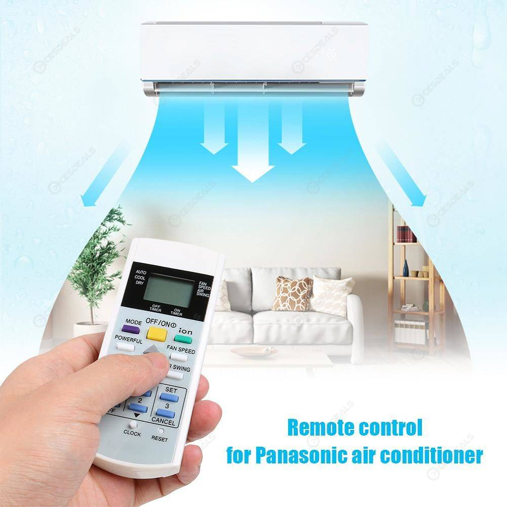 Air Conditioner Remote Control for Panasonic A75C3299 A75C2632 A75C2656