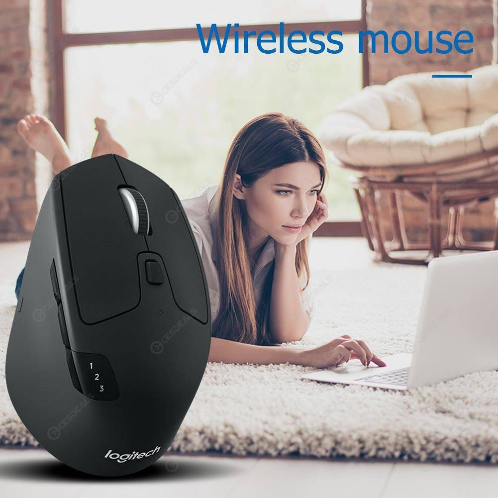 Logitech M720 Triathlon Bluetooth PC Dual-mode 2 4Ghz Wireless Mouse Mice