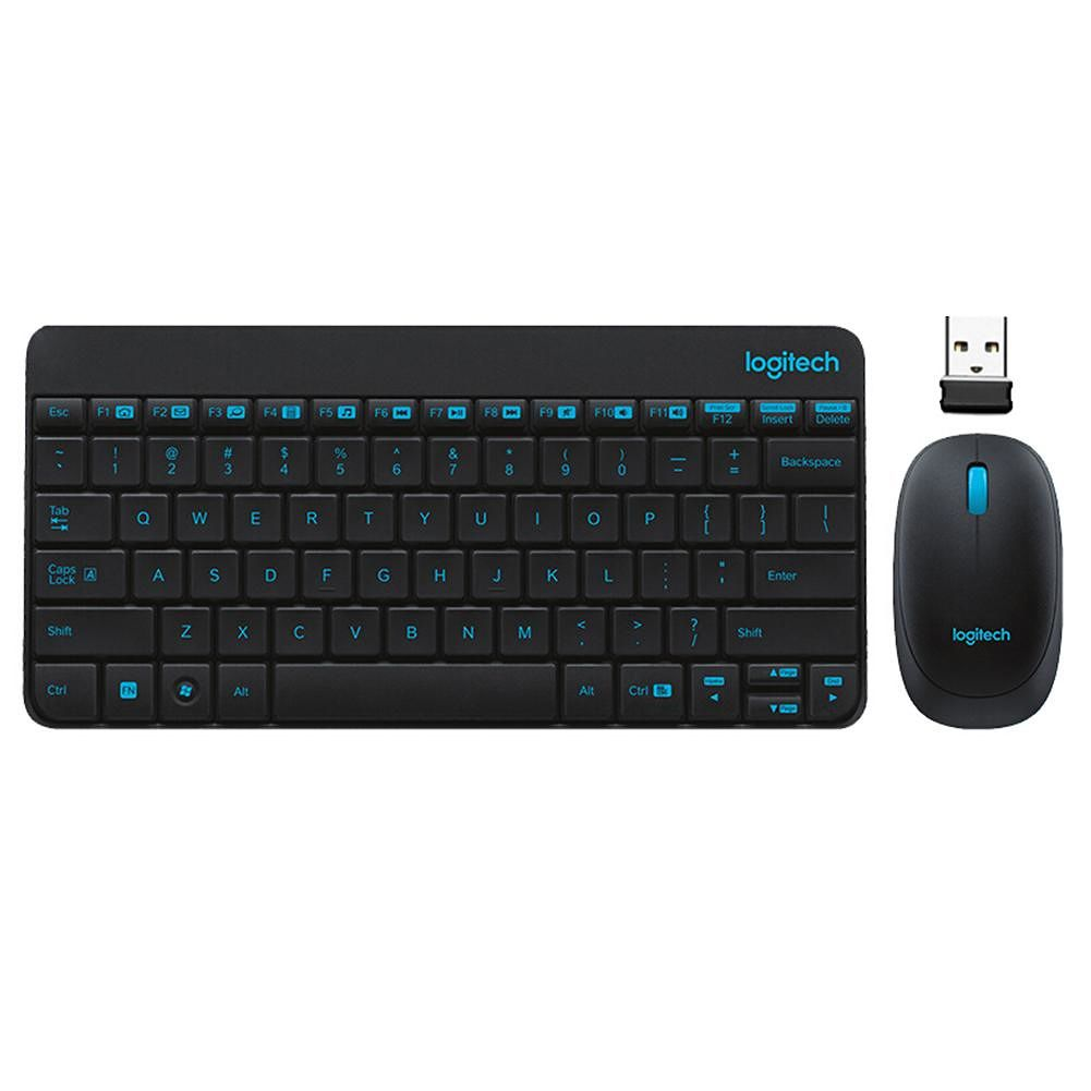 Logitech MK245 Wireless Keyboard and Mouse Combo Set for Windows Chrome OS