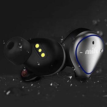 Mifo O5 TWS Bluetooth HiFi Earbuds with Charging Box (Standard)(Grey)
