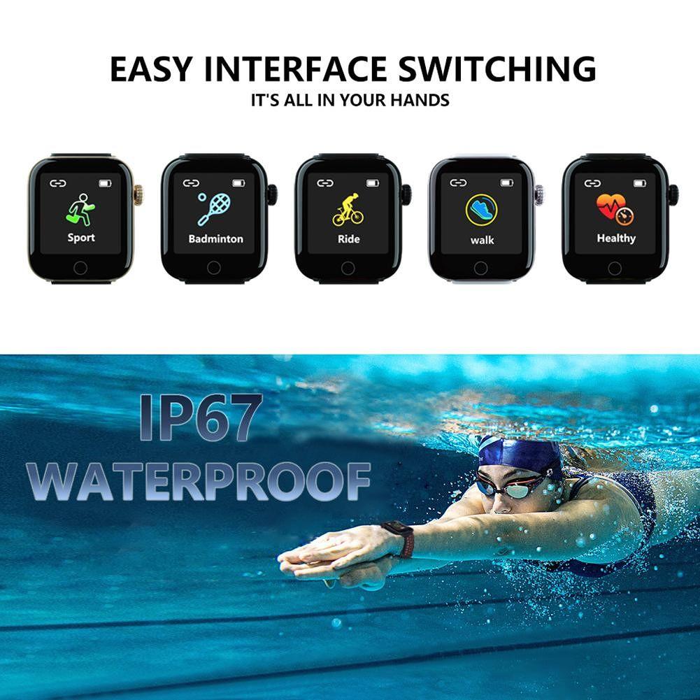 Z7 Smart Watch Bluetooth Bracelet Sleep Monitor Tracker Band (Pink White)