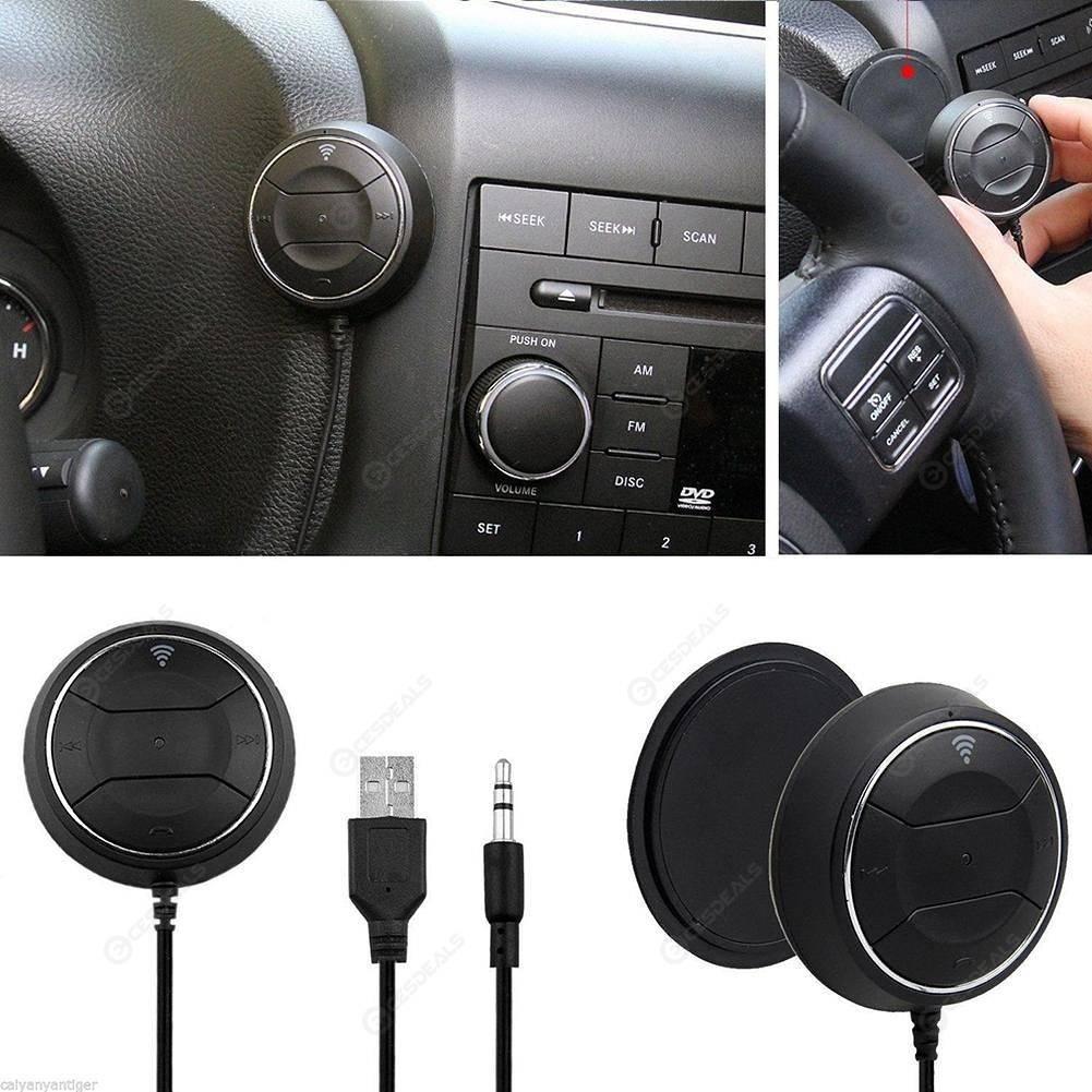NFC Bluetooth FM Transmitter Car Kit 3 5mm Jack Auto Speaker MP3 Player