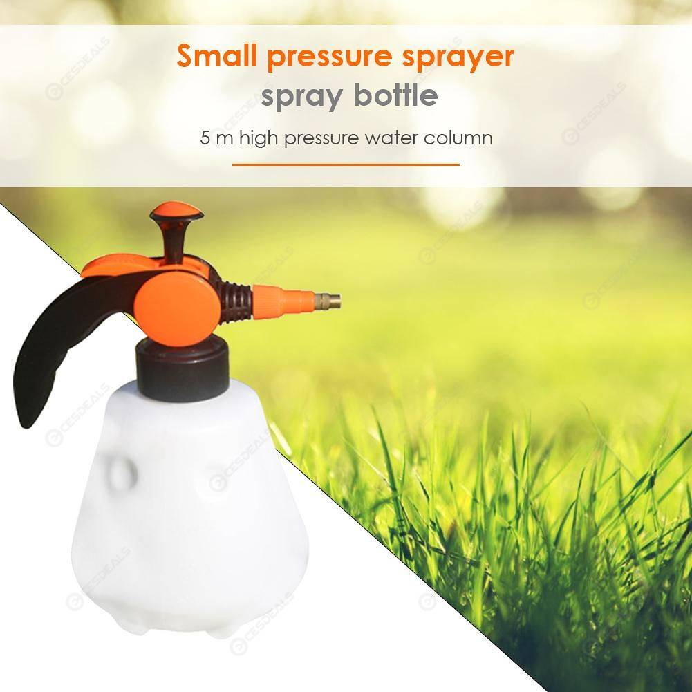 Manual Pressure Sprayer Water Bottle Garden Watering Sprayers Kettle (S)