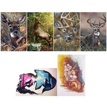 5D DIY Full Drill Diamond Painting Animal Cross Stitch Embroidery (K441)