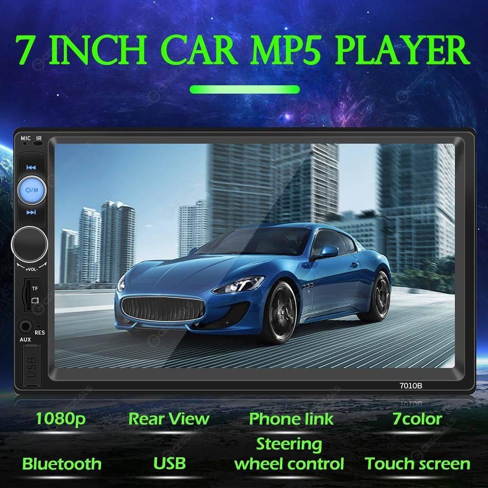 SWM 7010B Bluetooth Car Stereo 7 inch Screen AUX Input FM Radio Head